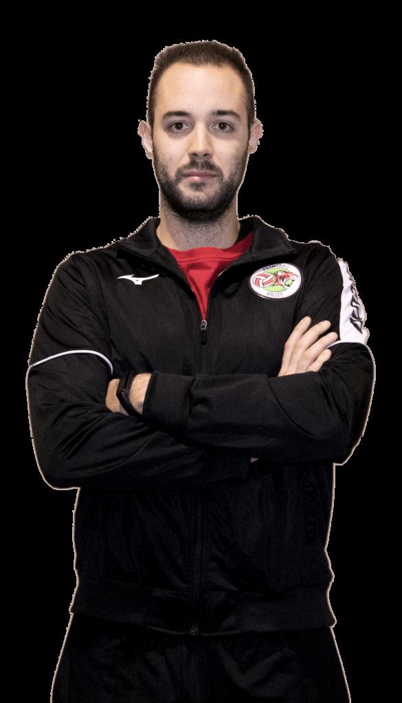 Fiippo Tonelli Prima squadra serie B2