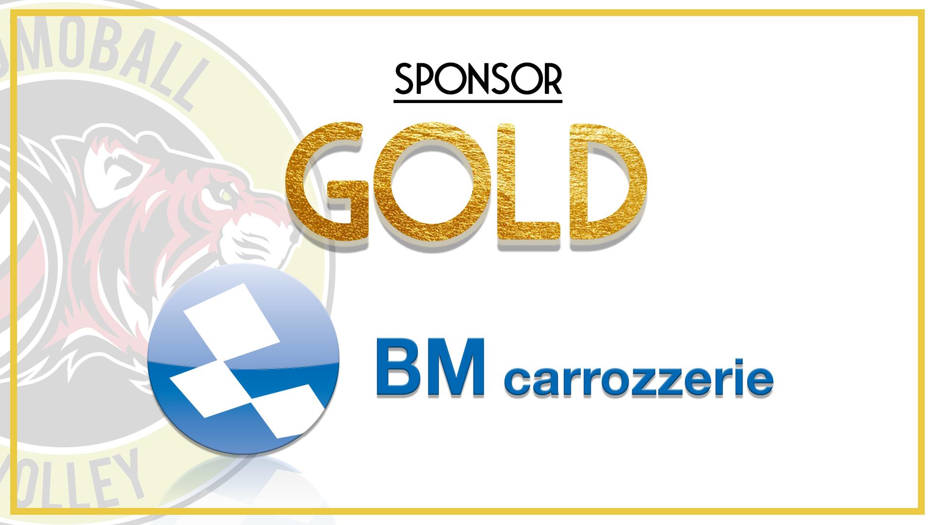 gold sponsor BM carrozzerie