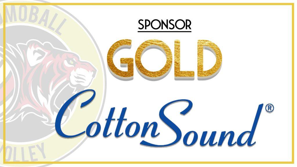 promoball gold sponsor COTTON