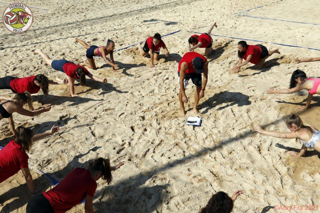 arena beach promoball